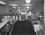 Interior of Chas Holm Grocery