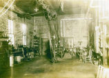 Brown's garage, view 2