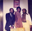 Charles B. Washington, Lerone Bennett, and unknown woman