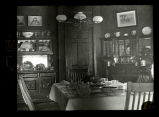 Dining room, William Wallace residence