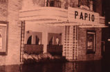 Flooded Papio Theater in Papillion, Nebraska
