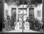 Frazier Cycle Company, window display