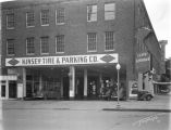 Kinsey Tire and Parking Company, from S. 14th Street